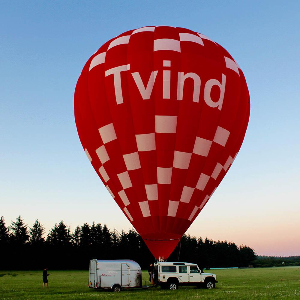 Hot Air Balloon Team Tvind afholder også DM med udgangspunkt i Tvind og Ulfborg.