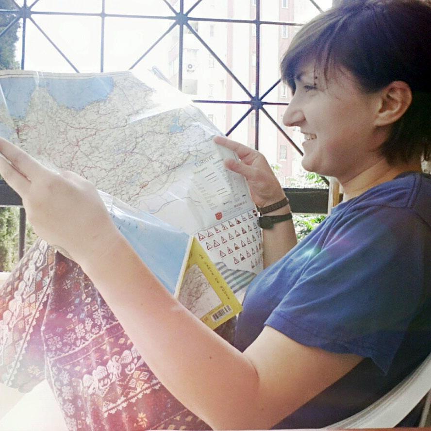 Svetlana promotes creative alternative education.